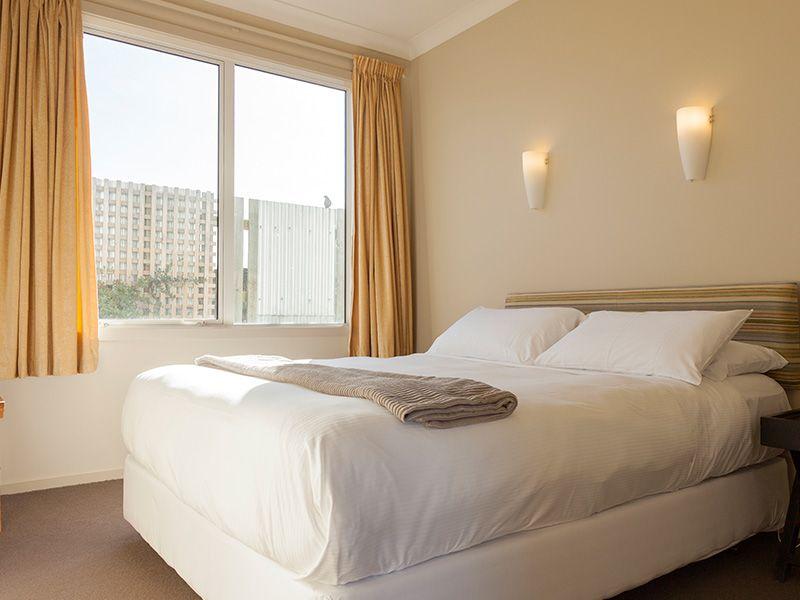 One bedroom unit bedroom